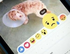 Facebook cria forma de expressar emoções além do Curtir