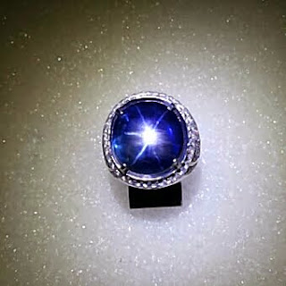 Star Blue Sapphire 15.54 CRT - Pusat Batu Permata Surabaya