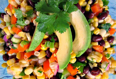 Renee's Kitchen Adventures: Corn, Black Bean and Avocado Salad