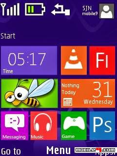 6300 windows 8 teması