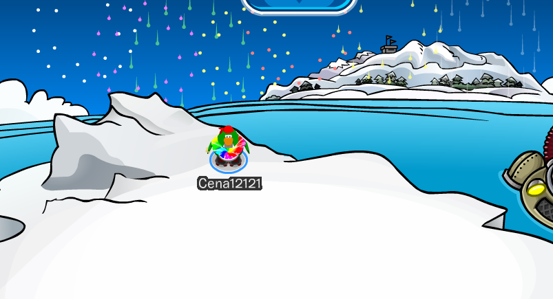 Club Penguin New Years Fireworks