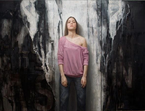 David Jon Kassan pinturas hiper-realistas retratos