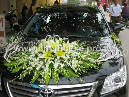 Mẫu hoa cưới đẹp Lan Ly vàng giá 1,2 triệu XH 104
