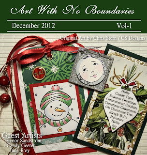 Art With No Boundaries Ezine December 2012 Cover