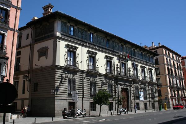 Palacetes de madrid for Instituto italiano de cultura madrid