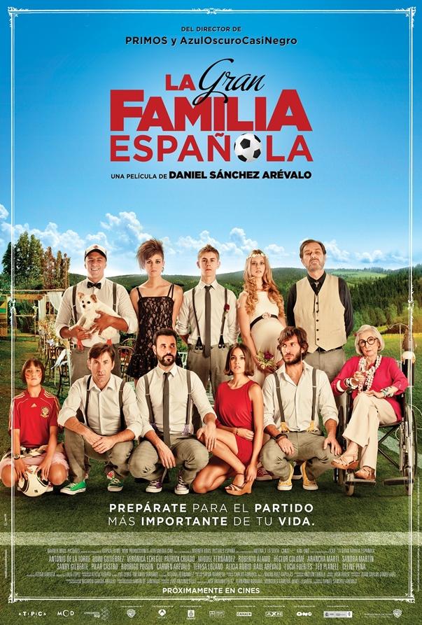 La gran familia española póster