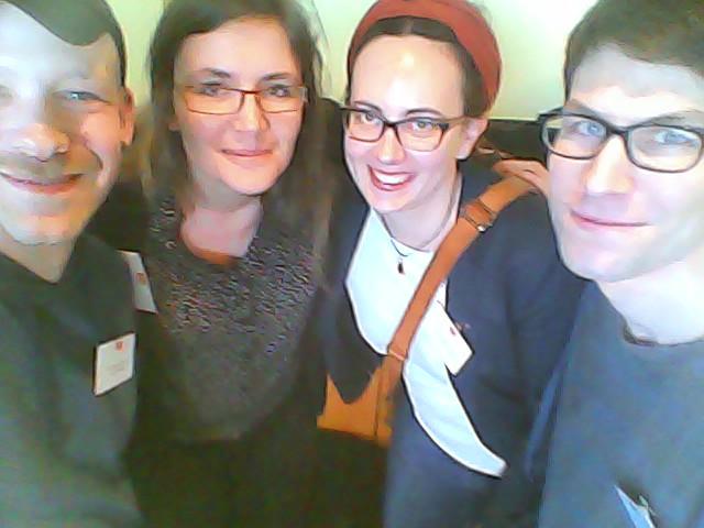 Julian, Cathleen, Isabel und Jan (von links nach rechts)