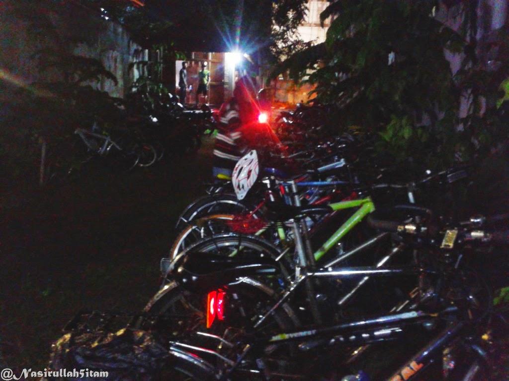 Sepeda para peserta yang datang diacara bincang santai