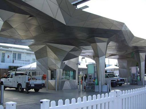 Poshest Gas Station