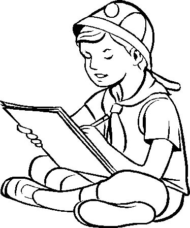 Picture Camping Coloring Pages Books | Family, People and Jobs ...