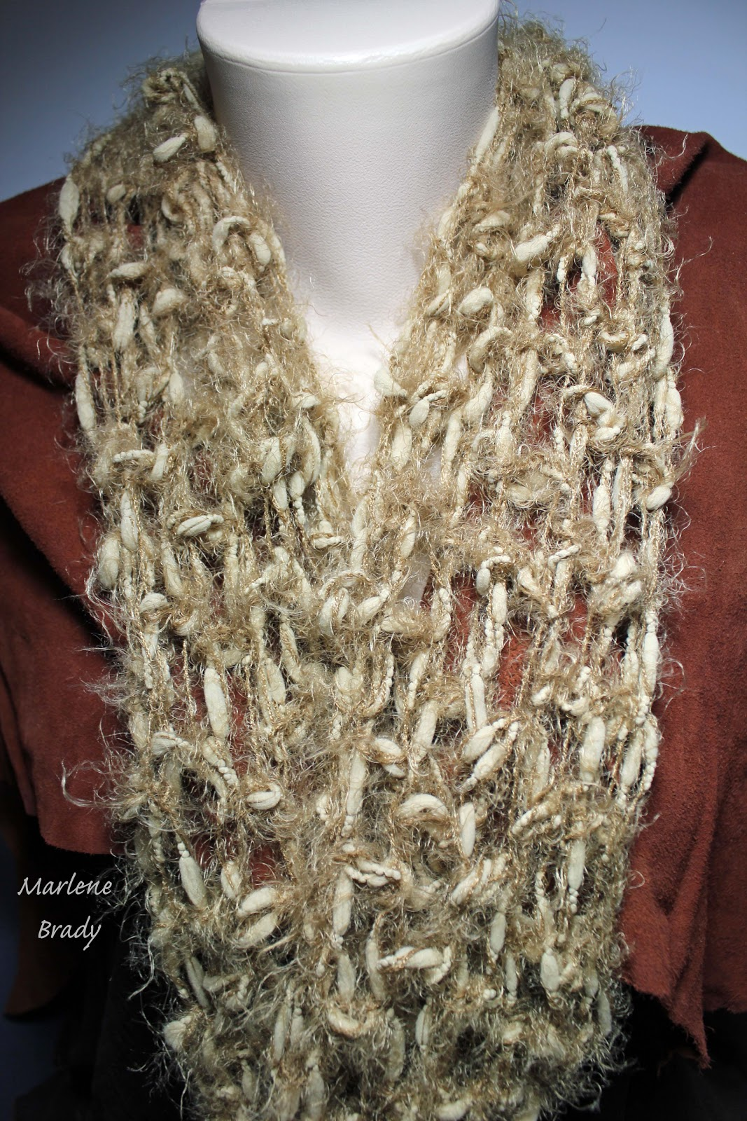 Double Crochet : Marlene Brady: Foundation-Less Double Crochet
