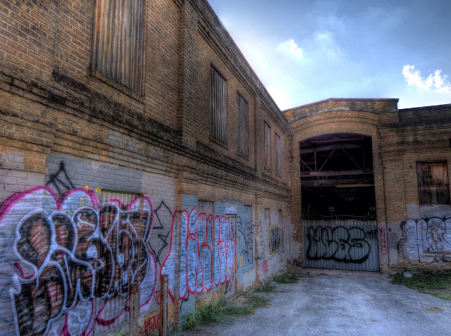 Abandoned Railway Warehouse - Downtown Austin - SW