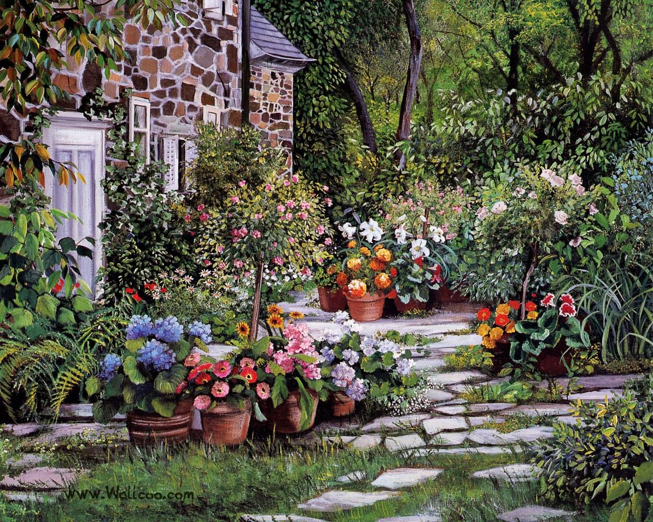 G rsel sanatlar deposu fine arts archive susan rios 39 la for Garden idea et 700