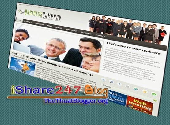 Template blogspot công ty