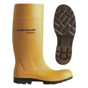 Dunlop Boots Yellow