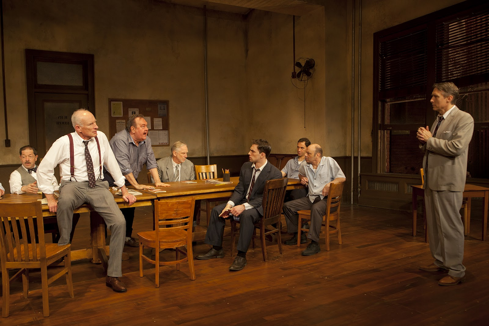 a review of the interesting play twelve angry men Buy 12 angry men [50th anniversary edition] (dvd) twelve angry men was his only foray into film production this review is from 12 angry men.