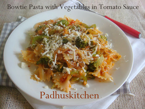 Italian style vegetarian pasta recipes