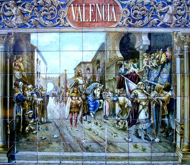 Otra historia de espa a entrada triunfal en valencia del for El rey de los azulejos