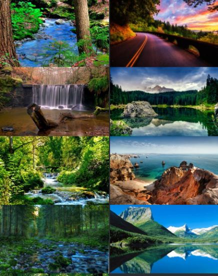 Download Amazing Wallpapers with Beautiful Corners of Nature 2014