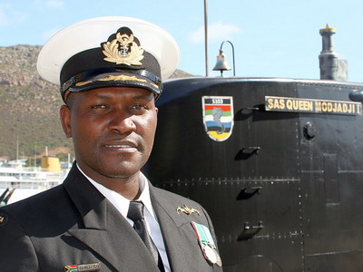 Lieutenant Commander Thomas Vusi Mahlangu