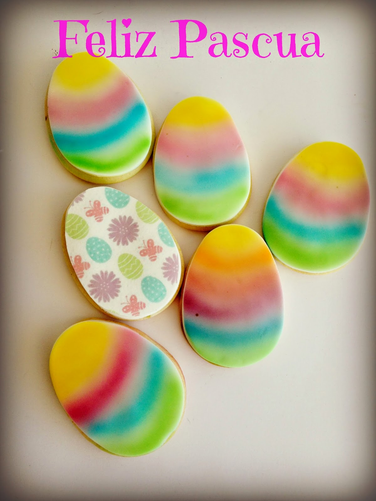 galletas huevo de pascua
