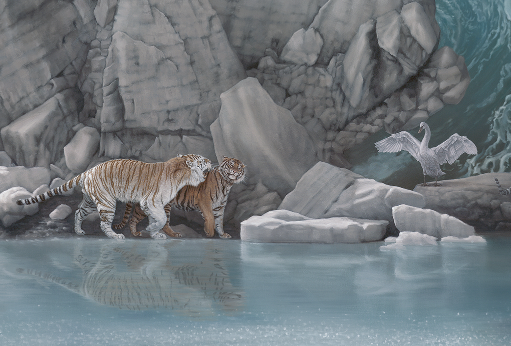 10-The-Promised-Land-detail-Joel-Rea-Paintings-of-People-and-Animals-in-Nature-www-designstack-co