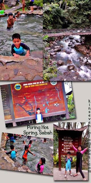 poring hot spring
