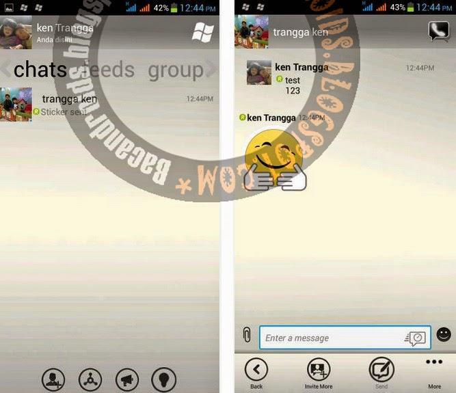 BBM Mod Thema WindowsPhone Monochrome Fitur Switchable v2.6.0.30