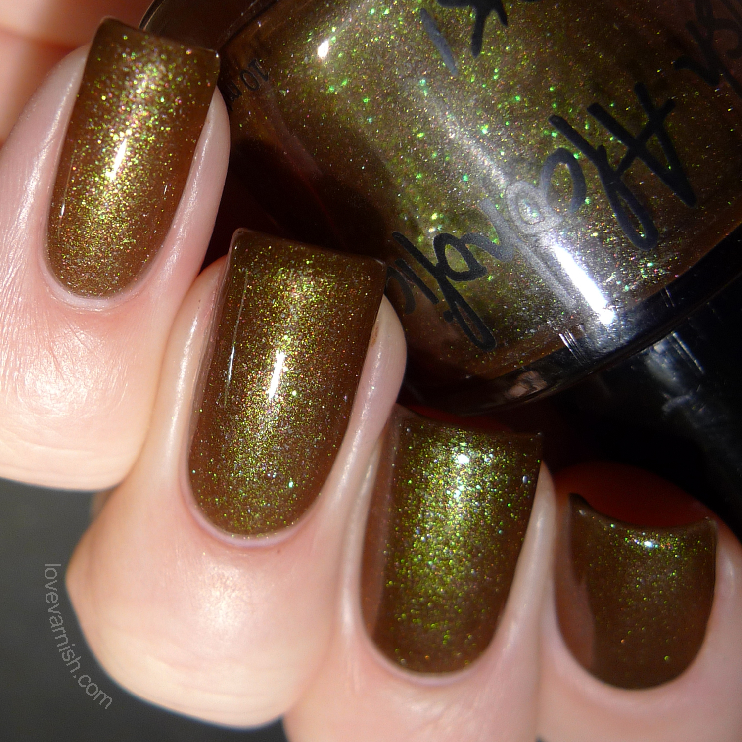 Polish Alcoholic Superheroes Loki swatches review