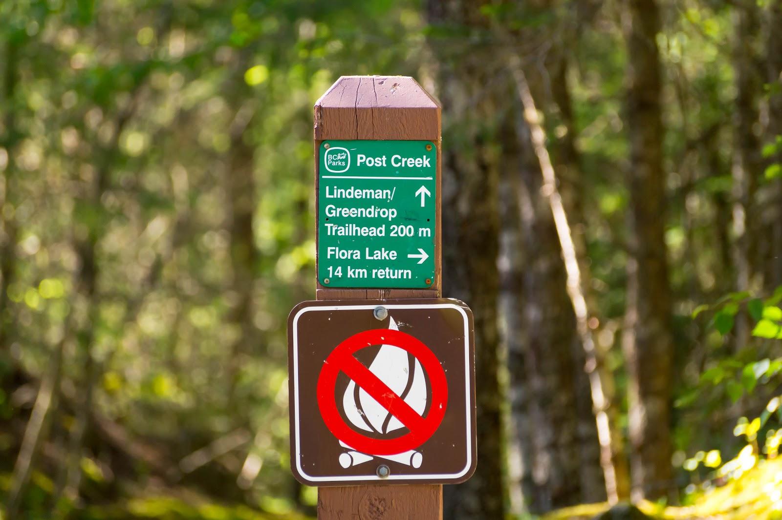 Чтобы добраться до озера Линдман нам придётся забраться на 300 метров в гору, пройдя 3.5км.