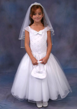2012 First Communion Dresses for Girls