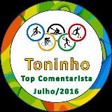 Top Comentarista Julho