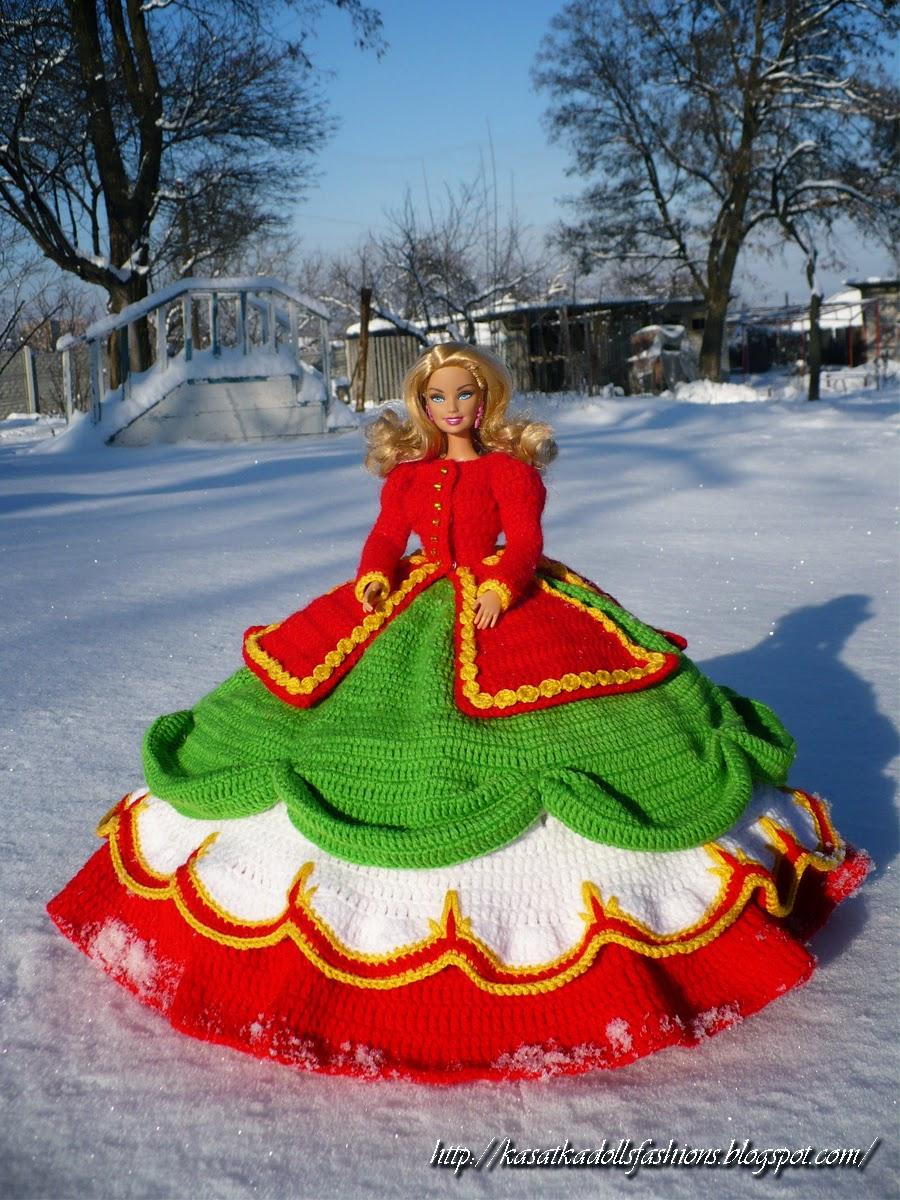 Вязаные Платья Для Кукол Барби И  К Ним