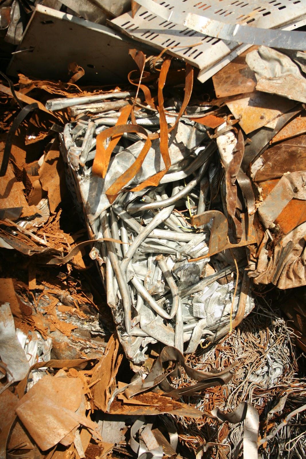 the other gardens: an other garden no.17: scrap metal mountain, the ...