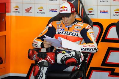 Jangankan Juara Dunia, Posisi 3 Marquez pun Kini Tak Lagi Aman