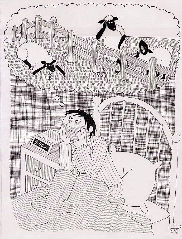 Cara Sederhana untuk Mengatasi Sulit Tidur