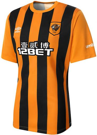 Umbro Hull City 14 15 Home Kit (1)