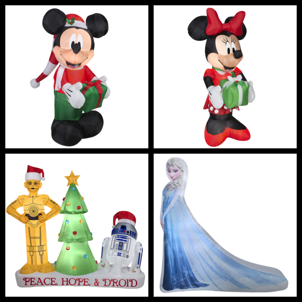 gemmy 6 ft lighted mickey mouse christmas inflatable