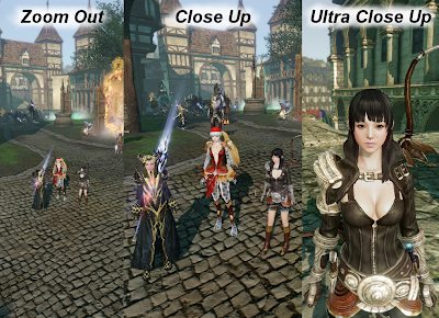 ArcheAge - Character Detail Levels