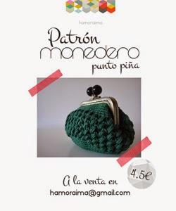 ▼ Patrón Monedero crochet ▼