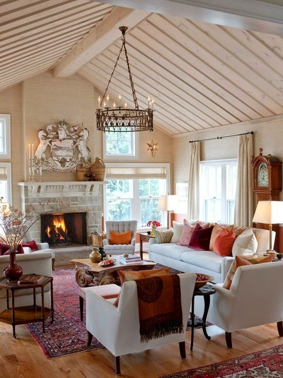 the polohouse decorating with oriental rugs