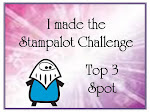 I made the Top 3 at Sir Stampalot