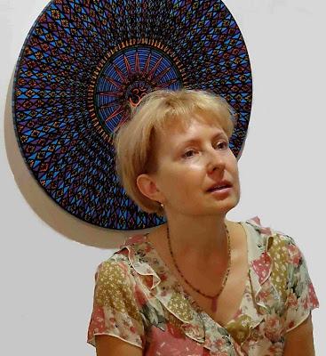 Оксана Лупич, участница выставки