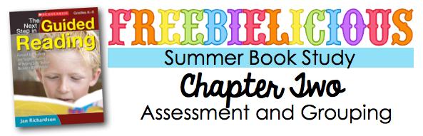 tips for assessment and grouping as you begin Guided Reading in the classroom