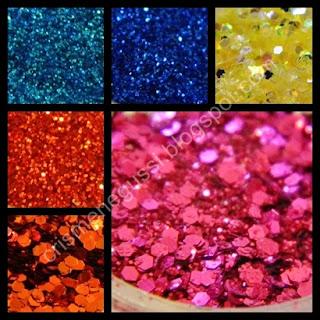 unhas glitters