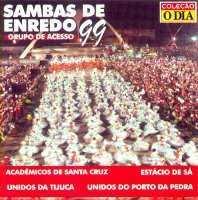 foto da capa do cd sambas de enredo 1999 grupo de acesso