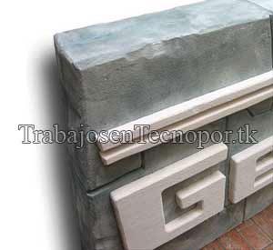 Muro tipo Piedra Inca tecnopor