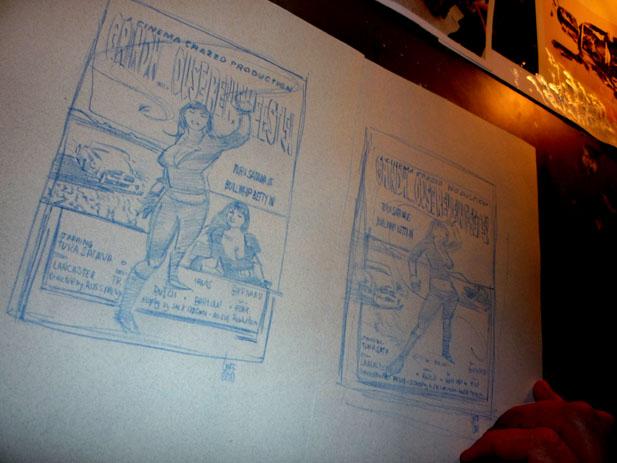Wiccan and Hulking, original art by Jeff Lafferty