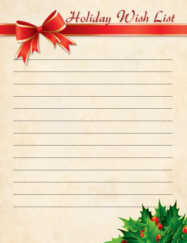 Wishlist Pictures to Pin PinsDaddy – Printable Wish List Template