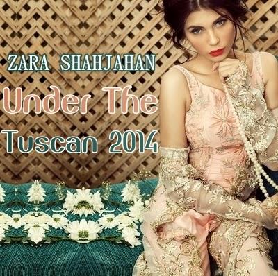 Zara Shahjahan Bridal Collection 2014